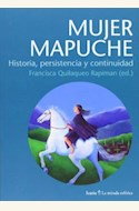 Papel MUJER MAPUCHE