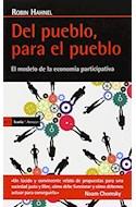 Papel DEL PUEBO PARA EL PUEBLO EL MODELO DE LA ECONOMIA PARTICIPATIVA (ANTRAZYT 411)