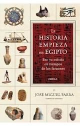 Papel LA HISTORIA EMPIEZA EN EGIPTO