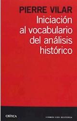Papel INICIACION AL VOCABULARIO DEL ANALISIS HISTORICO