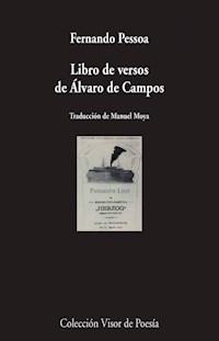 Libro Libro De Versos De Alvaro De Campos