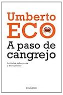 Papel A PASO DE CANGREJO ARTICULOS REFLEXIONES Y DECEPCIONES