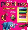 Papel Animales Modela Plastilinas