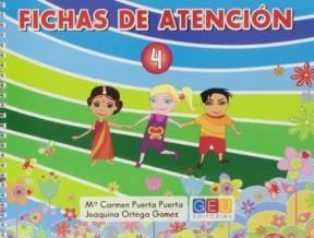 Papel FICHAS DE ATENCION 4 (CON ESPIRAL)