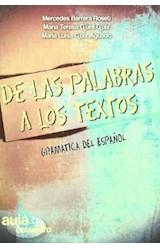 Papel DE LAS PALABRAS A LOS TEXTOS