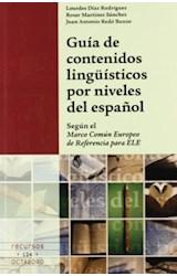 Papel GUIA DE CONTENIDOS LINGUISTICOS POR NIVELES DEL ESPAÑOL