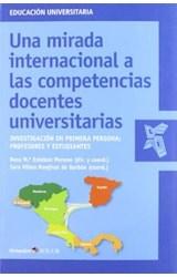 Papel UNA MIRADA INTERNACIONAL A LAS COMPETENCIAS DOCENTES UNIVERS