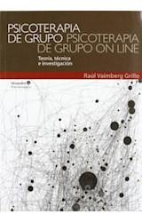 Papel PSICOTERAPIA DE GRUPO PSICOTERAPIA DE GRUPO ON LINE