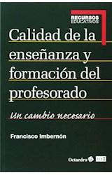 Papel CALIDAD DE LA ENSEEANZA Y FORMACION DEL PROF