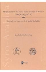 Papel MATERIAL CRITICO DEL TEXTO ARABE ANDALUSI DE MARCOS