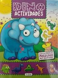 Libro Dino Actividades Morado