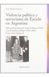 Papel VIOLENCIA POLITICA Y TERRORISMO DE ESTADO