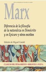 Papel DIFERENCIA DE LA FILOSOFIA DE LA NATURALEZA EN D