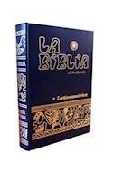 Papel BIBLIA LATINOAMERICANA LETRA GRANDE (NORMAL CARTONE CON UÑERO) EDICION PASTORAL