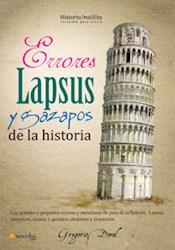Libro Errores  Lapsus Y Gazapos De La Historia
