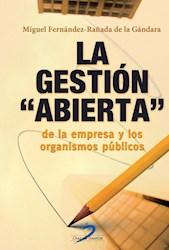 Libro La Gestion Abierta De La Empresa Y Los Organismos Publicos