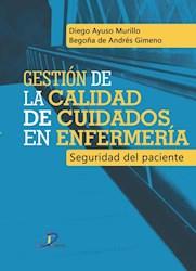 Libro Gestion De La Calidad De Cuidados En Enfermeria