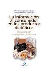 E-book La información al consumidor en los productos dietéticos