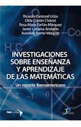 E-book Investigaciones sobre enseñanza y aprendizaje de las matemáticas
