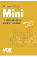 Papel DICCIONARIO BILINGUE MINI ITALIANO-SPAGNOLO / ESPAÑOL-ITALIANO (BOLSILLO)