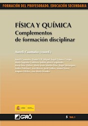 Libro Fisica Y Quimica. Complementos De Formacion Dis