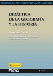 Libro Didactica De La Geografia Y La Historia