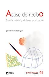 Libro Acuse De Recibo