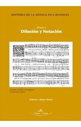 E-book Historia de la música en 6 bloques. Bloque 3. Difusión y notación. Contiene CD