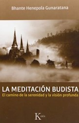 Libro La Meditacion Budista