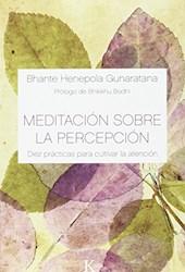 Libro Meditacion Sobre La Percepcion