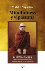 Libro Mindfulness Y Vipassana . El Metodo Mahasi