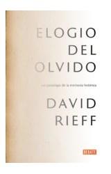 Papel ELOGIO DEL OLVIDO