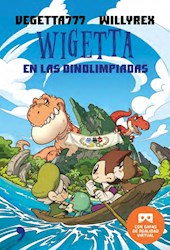 Libro Wigetta Dinoolimpiadas + Gafas Vr