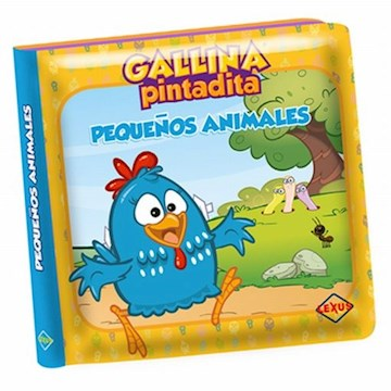 Papel Pequeños Animales Gallina Pintadita