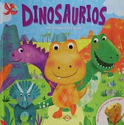 Libro Dinosaurios (Pop-Up)Para Leer Y Jugar (Incluye Poster)