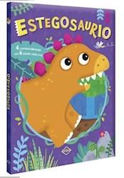 Libro Estegosaurio (4 Rompezabezas Con 6 Piezas Cada Una)