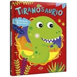 Libro Tiranosaurio (4 Rompecabezas Con 6 Piezas Cada Uno)
