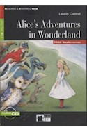 Papel ALICE'S ADVENTURES IN WONDERLAND (COLECCION BLACK CAT) (AUDIO CD)
