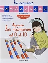 Libro Los Pequeños Montessori : Aprendo Los Numeros