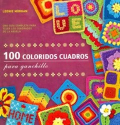 Papel 100 Coloridos Cuadros Para Ganchillo