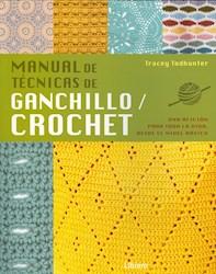 Libro Manualde Tecnicas De Ganchillo Crochet