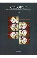 Revista COLOFON 29 (SOBREVIVIR AL CONSUMO)