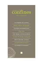 Revista PENSAMIENTO DE LOS CONFIN 19