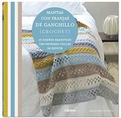 Libro Mantas Con Franjas De Ganchillo ( Crochet )