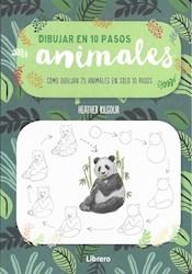 Libro Dibujar En 10 Pasos Animales