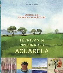 Libro Tecnicas De Pintura A La Acuarela