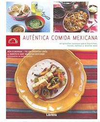 Libro Autentica Comida Mexicana
