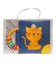 Libro Mi Libro Suave Con Sonajero Y Mordillo: Gato