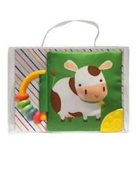 Libro Mi Libro Suave Con Sonajero Y Mordillo: Vaca