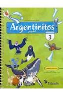 Papel ARGENTINITOS 3 ESTRADA EGB